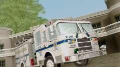 Pierce Pumpers. B.C.F.D. FIRE-EMS para GTA San Andreas
