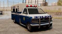 Nueva policía van para GTA 4