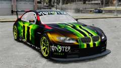 BMW M3 (E90) 2008 Monster Energy v1.2 para GTA 4