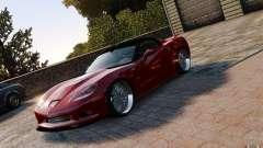 Chevrolet Corvette ZR1 para GTA 4