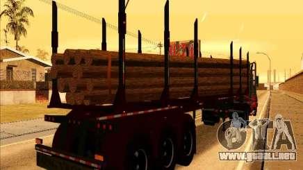 Trailer, Western Star 4900 para GTA San Andreas