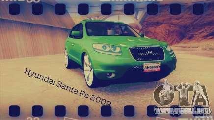 Hyundai Santa Fe 2009 para GTA San Andreas