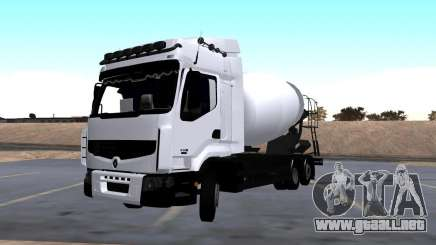 Mezclador de Renault Premium para GTA San Andreas