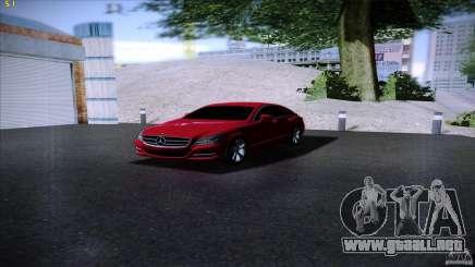 Mercedes Benz CLS 350 2011 para GTA San Andreas