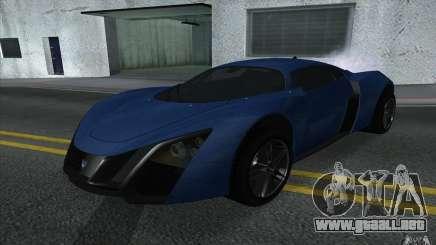 Marussia B2 2010 para GTA San Andreas