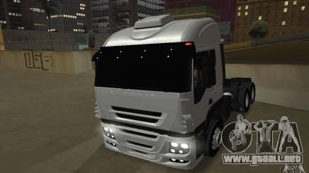 Iveco Stralis Double Trailers para GTA San Andreas