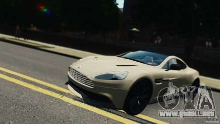 Aston Martin Vanquish 2013 белый para GTA 4