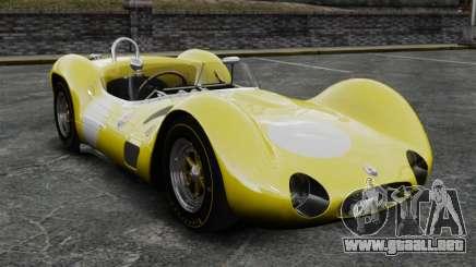 Maserati Tipo Jaula de 60 жёлтый para GTA 4