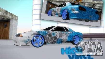 Vinilo HKS equipo para GTA San Andreas
