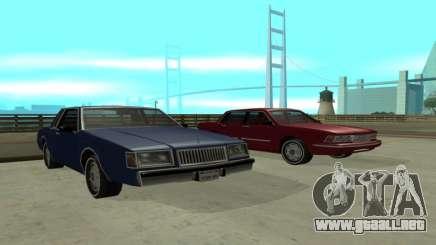 New Majestic para GTA San Andreas