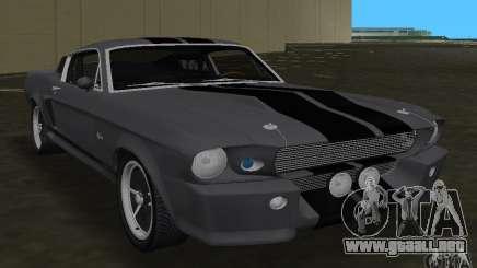 Shelby GT500 Eleanor para GTA Vice City