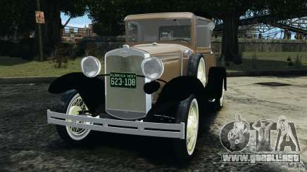 Ford Model A Pickup 1930 para GTA 4