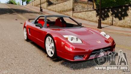 Honda NSX-R (NA2) 2005 para GTA 4