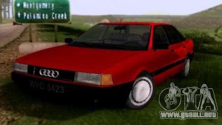 Audi 80 B3 para GTA San Andreas