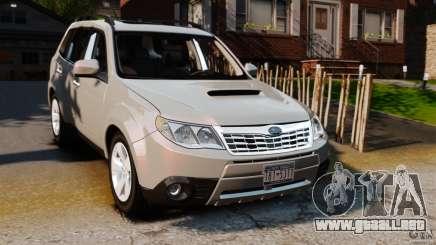 Subaru Forester 2008 XT para GTA 4