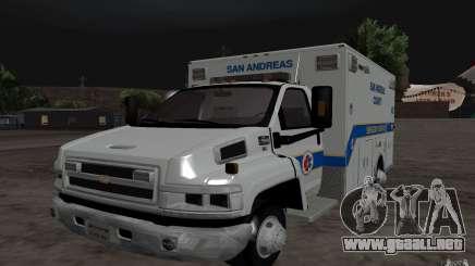 Chevrolet C4500 Ambulance para GTA San Andreas