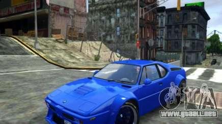 BMW M1 Replica para GTA 4