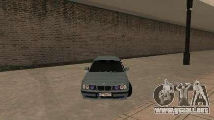 BMW E34 540i V8 para GTA San Andreas