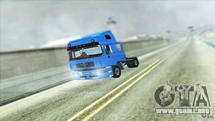 Man F2000 para GTA San Andreas