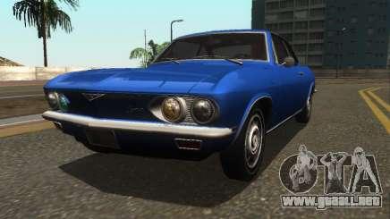 Chevrolet Corvair Monza 1969 para GTA San Andreas
