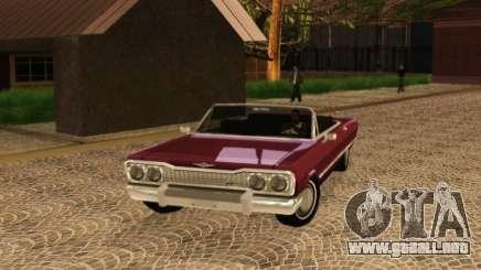 Savanna Detroit 1965 para GTA San Andreas
