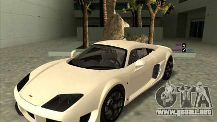 Noble M600 blanco para GTA San Andreas