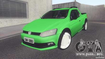 Volkswagen Saveiro 2013 para GTA San Andreas
