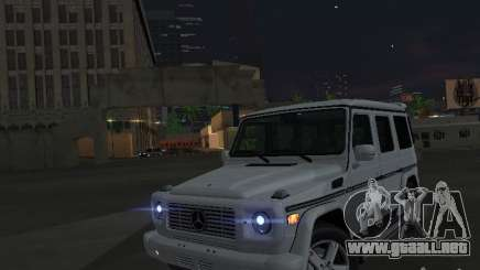 Mercedes-Benz Galendewagen G500 para GTA San Andreas
