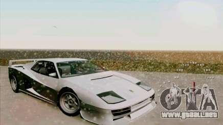 Ferrari Testarossa Custom para GTA San Andreas