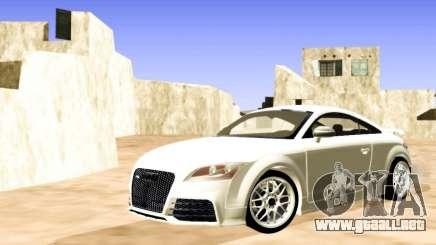 Audi TT RS blanco para GTA San Andreas