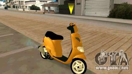 Piaggio Zip para GTA San Andreas