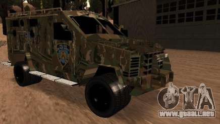 Lenco Bearcat NYPD para GTA San Andreas