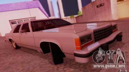 Ford Crown  Victoria LTD 1985 para GTA San Andreas