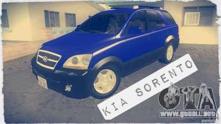 Kia Sorento para GTA San Andreas