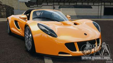 Hennessey Venom GT Spyder para GTA 4
