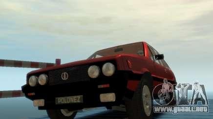 FSO Polonez 2.0X Coupe para GTA 4