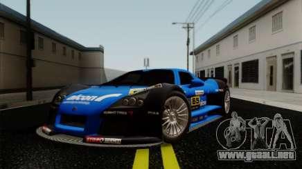 Gumpert Apollo 2005 para GTA San Andreas