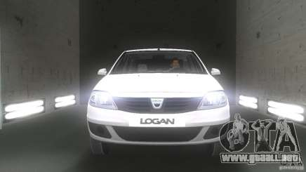Dacia Logan para GTA Vice City