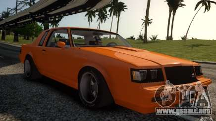 Buick Regal Grand National 1987 para GTA 4