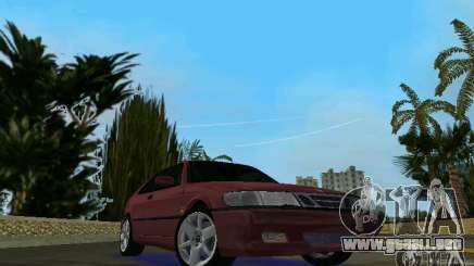 Saab 9-3 Aero 3-door 1999 para GTA Vice City