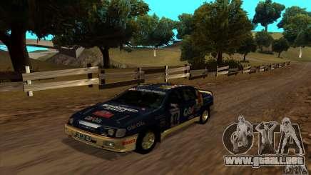 Ford Sierra RS500 Cosworth RallySport para GTA San Andreas