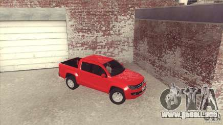 Volkswagen Amarok TDI Trendline 2013 para GTA San Andreas