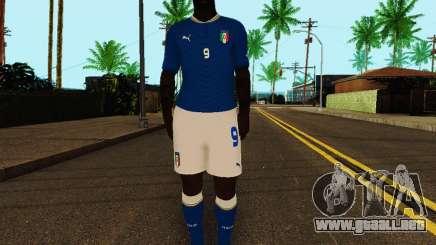 Mario Balotelli v4 para GTA San Andreas
