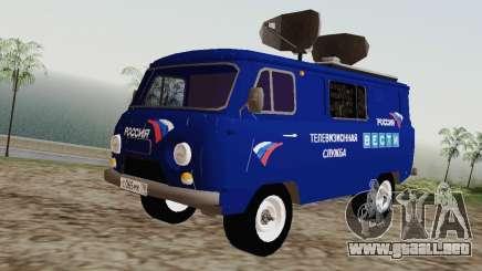 UAZ-3741 a para GTA San Andreas