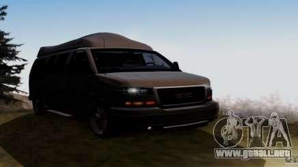 GMC Savana AWD para GTA San Andreas