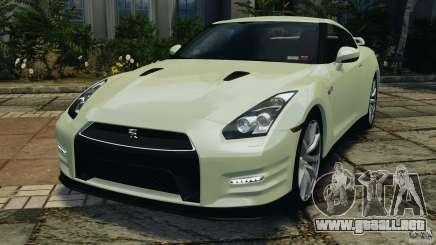 Nissan GT-R 2012 Black Edition para GTA 4