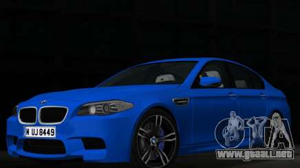 BMW M5 F10 2012 para GTA Vice City