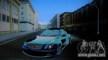 Mercedes-Benz CLK 55 AMG Coupe para GTA San Andreas