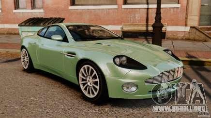 Aston Martin Vanquish 2001 para GTA 4