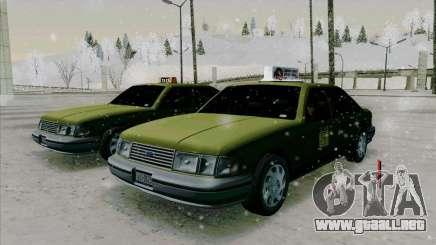 HD Taxi SA de GTA 3 para GTA San Andreas
